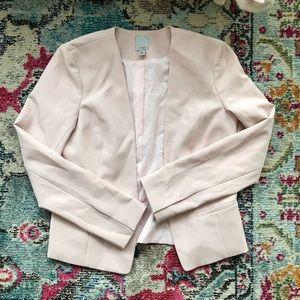 Millennial pink blazer